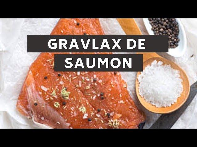 Faire son gravelax de saumon maison
