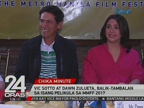 24 Oras: Vic Sotto at Dawn Zulueta, balik-tambalan sa isang pelikula sa MMFF 2017