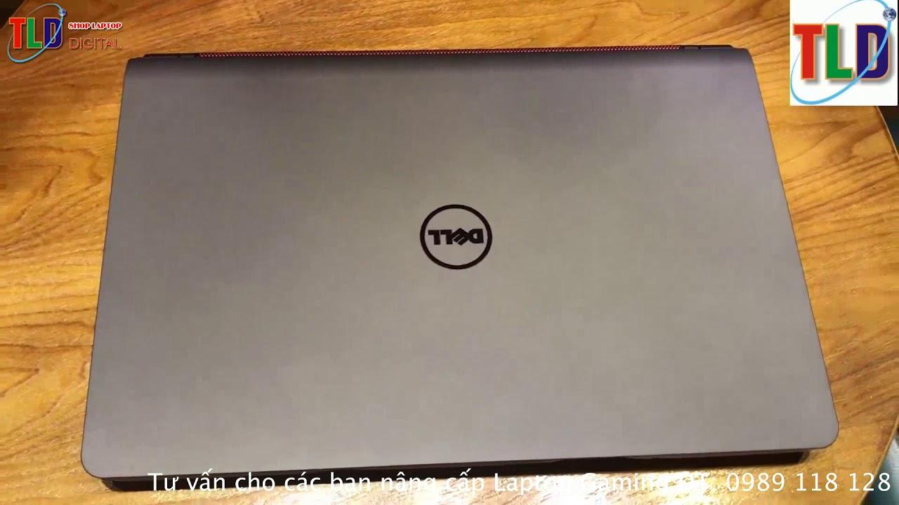 Nâng Cấp Ổ Cứng SSD Và Ram Cho Laptop Gaming Dell 7559
