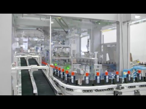 Schubert automates packaging process for hair care products