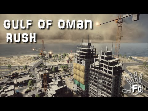 BATTLEFIELD 4 oman rush gameplay