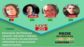 Baixar Live 20 – EJAI no contexto da pandemia: reflexões e proposições esperançosas