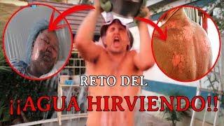 Hot Water Challenge - El reto Viral del Agua Hirviendo - CUIDADO!