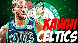 KAWHI LEONARD CELTICS REBUILD!! 6 90+ OVERALLS!?!? NBA 2K18