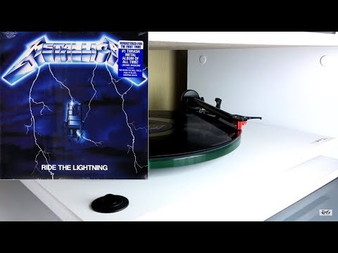 METALLICA Ride The Lightning (Remastered) vinyl rip 1080p
