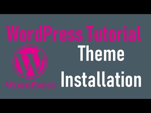 WordPress tutorial - 3: Install & Customize WordPress Theme thumbnail