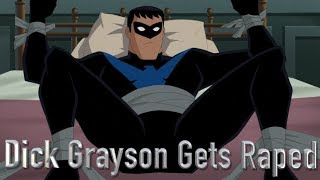 Dick Grayson Raped By Harley Quinn (Batman And Harley Quinn)