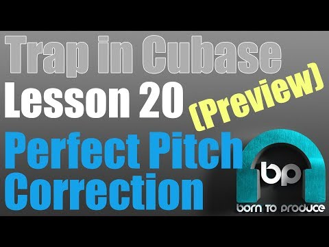Cubase 9 5 Trap Tutorial - Lesson 20 - Perfect Pitch Vocals - YouTube