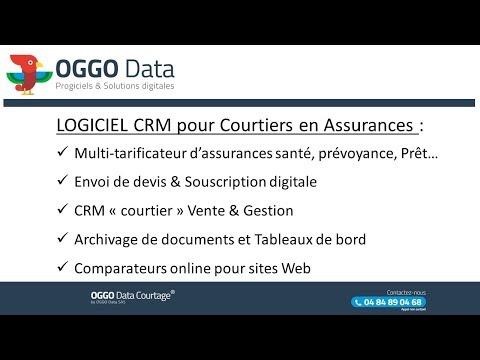 OGGO Data - Logiciel CRM pour courtier en Assurances