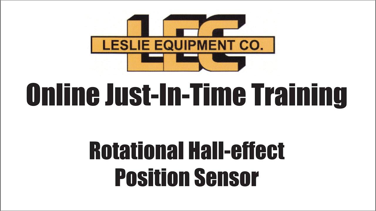 Rotational Hall Effect Sensor