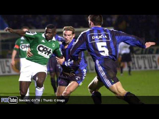 2000-2001 - Beker Van België - 01. 16de Finale - La Louvière - Club Brugge 2-1