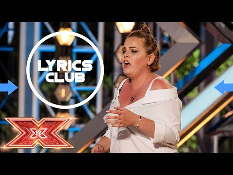 Rebecca Grace - Piece by piece - The X Factor 2017 - Auditions Week 2 - Lyrics by LyricsClub from YouTube · Duration:  2 minutes 25 seconds