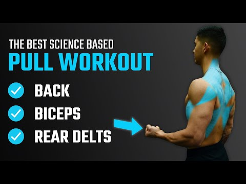 The Best Science-Based PULL Workout For Growth (Back/Biceps/Rear Delts)
