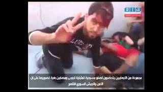 [Syria] (Unknown date) Terror Activists prepare a fake scene for Al Jazeera