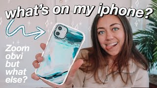 what's on my iPhone 11 (2020)