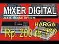MIXER DIGITAL modal Rp.200 rb ??? bisa buat mutitrack recording