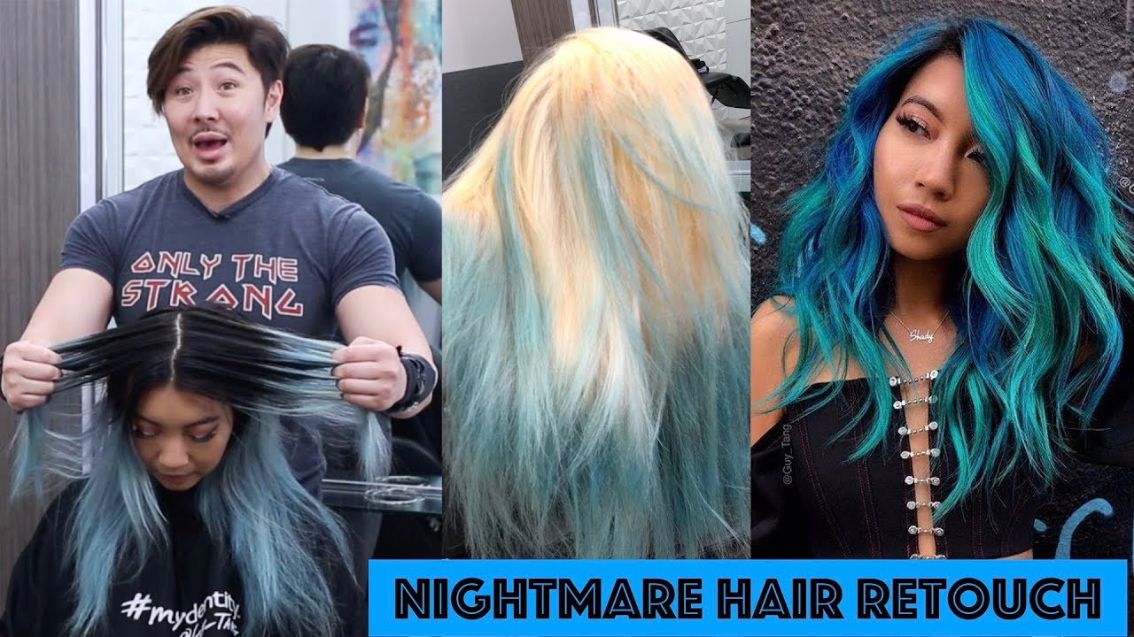 Nightmare Hair Retouch Youtube