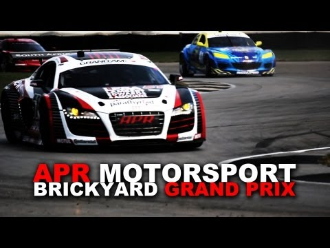 APR Motorsport Audi R8 Grand-AM at Brickyard Grand Prix
