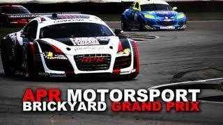 APR Motorsport Audi R8 Grand-AM at the Brickyard Grand Prix