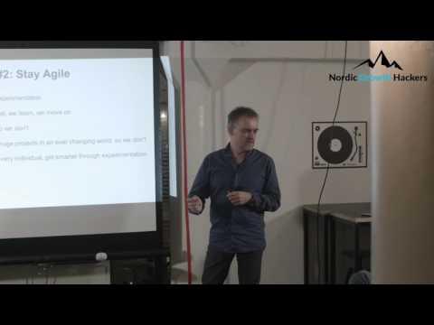 Jesper Lindhardt, Trustpilot, speaks @Nordic Growth Hackers Event #5