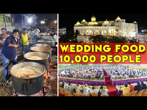 10,000-people-in-grand-wedding-|-veg-and-non-veg-catering-by-limra