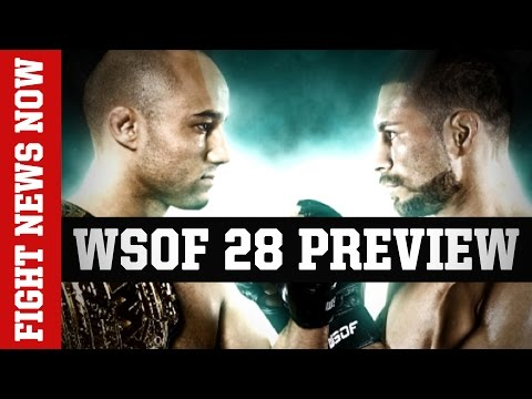Bellator Kickboxing, WSOF 28 Preview and More on Fight News Now