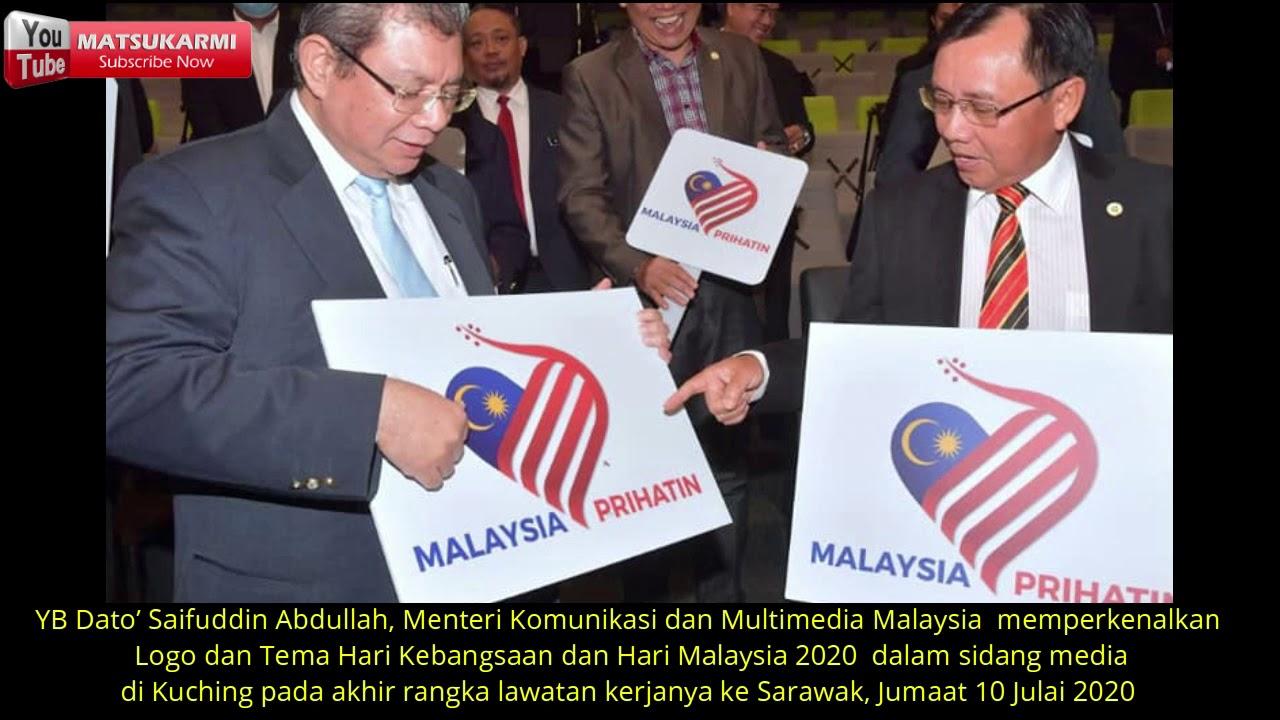 Kenali Logo Malaysia Prihatin Tema Hari Kebangsaan