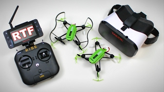 NEW FPV House Racer - RISE Vusion 125 RTF Quad Race Drone Pack FULL REVIEW - TheRcSaylors