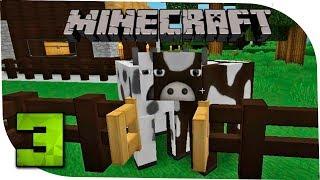Minecraft С модами 3 Время заводить живность