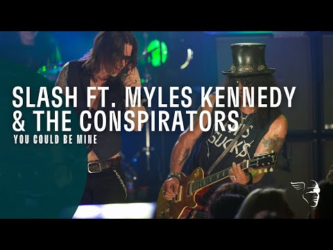 Slash ft. Myles Kennedy & The Conspirators – You Could Be Mine (Live At The Roxy)