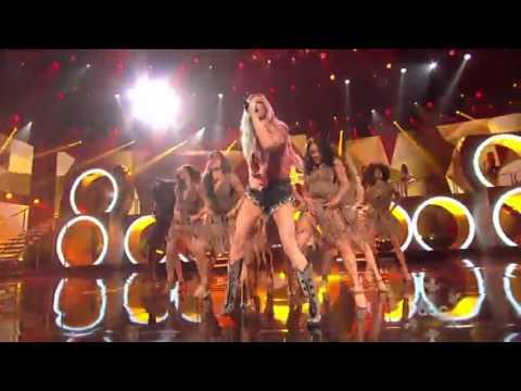 Pitbull & Ke$ha - Timber - Live at the American Music Awards 2013