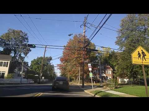 Driving from Englewood to Tenafly,New Jersey