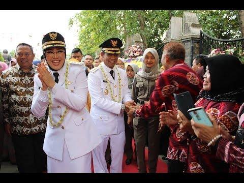 SELAMAT DAN SUKSES Bupati Ambu Hj. Anne Ratna Mustika & WK. Bupati H Aming Kab.Purwakarta