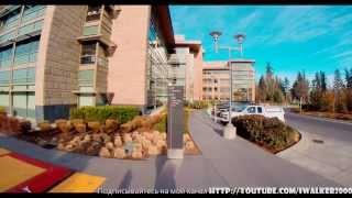 Путевые Заметки.Сиэтл,февраль 2014:тест GoPro HERO3+ Black Edition - прогулка по кампусу Microsoft