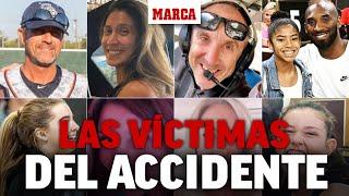 Kobe Bryant: las vidas de las nueve víctimas en el accidente de helicóptero I MARCA