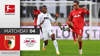 #fcarbl   highlights from matchday 4!► sub now: https://redirect.bundesliga.com/_bwcs watch the bundesliga of fc augsburg vs. rb leipzig matc...