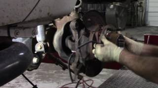 F-350 Super-Duty front axle seal leak (tear down only)