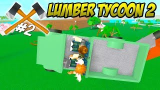 CARS CAN FLY? -Roblox Lumber Tycoon 2 Ep 2 Danish Season 2