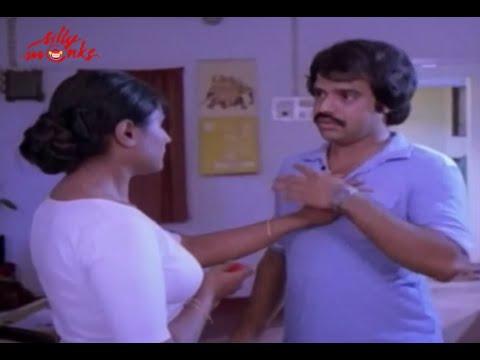 Shubha - Balachandra Menon Romantic Scene - Ithiri Neram Othiri Karyam Malayalam Movie scene
