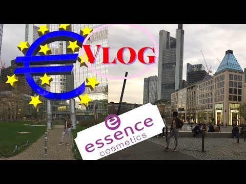 Day Trip to FRANKFURT | Videoshoot with ESSENCE COSMETICS