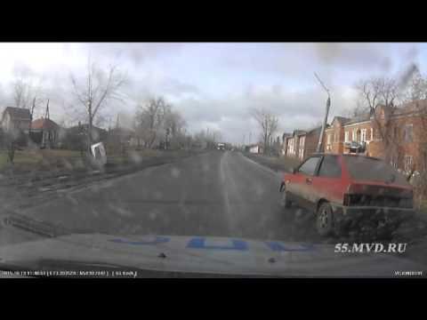 Задержание водителя ВАЗ 2108 в Омске | The detention of the driver of the car VAZ
