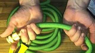 Gartenschlauch 15M Wasserschlauch FlexiSchlauch und Spritzdüse von Wholev unboxing und Anleitung