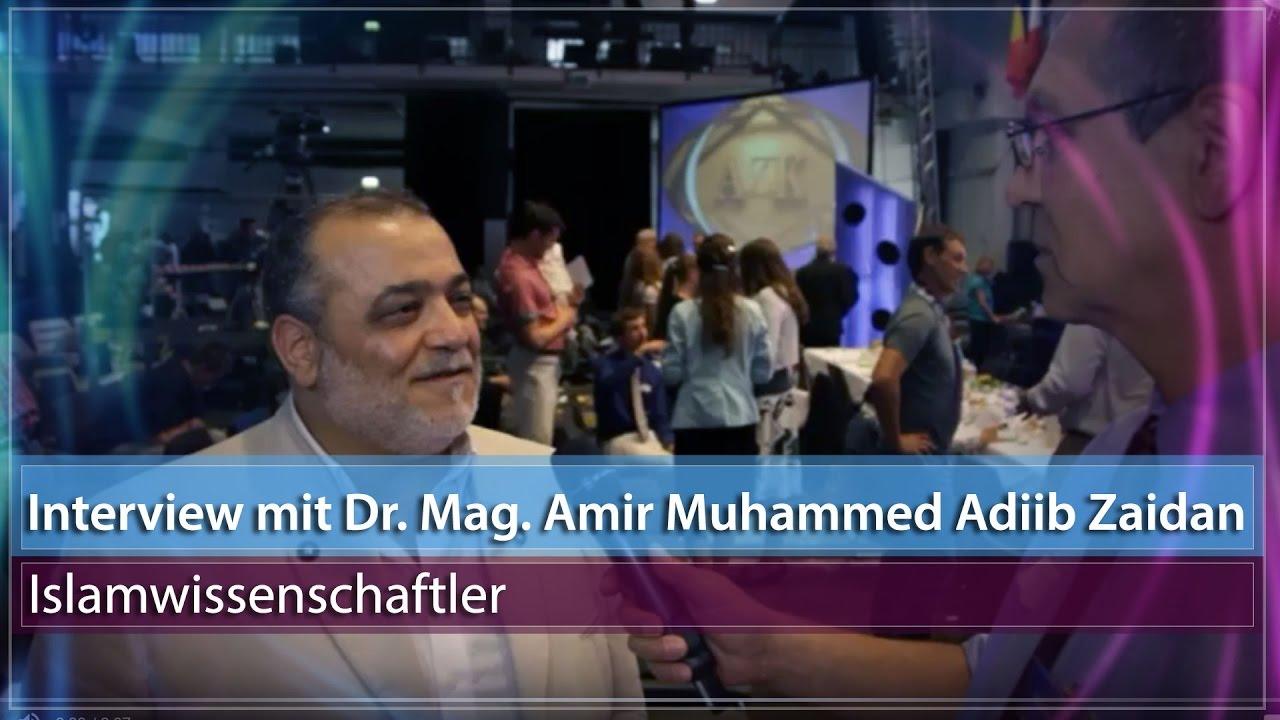 13. AZK - Interview mit Dr. Mag. Amir Muhammed Adiib Zaidan (Syrien)
