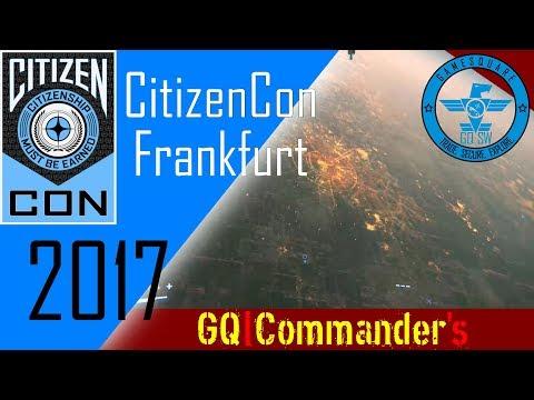 GQSW: CitizenCon 2017 - Frankfurt - Summary
