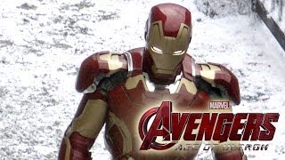 Repeat youtube video Avengers 2 Set Photos: Ultron, Scarlet Witch & Quicksilver First Looks!