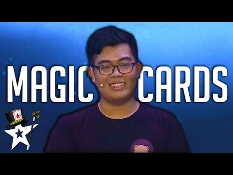 Card Tricks Stuns Judges on Myanmar's Got Talent | Semi-Finals | Magicians Got Talent