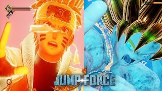 GOKU VS NARUTO - BATALHA DE ANIMES ( Jump Force )