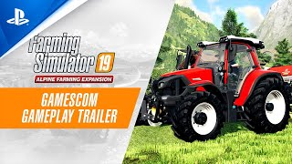 Farming Simulator 19 Alpine Farming Expansion - Gamescom 2020 Gameplay Trailer | PS4