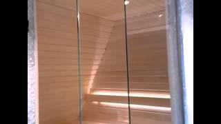 Сауна из стекла(Ограждение из стекла., 2015-05-25T11:34:49.000Z)