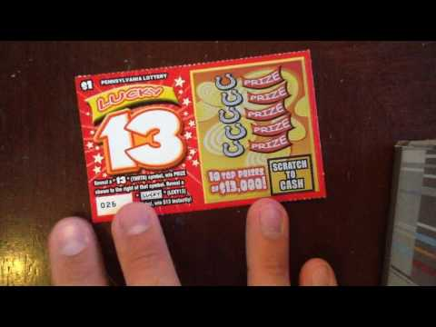 $1 Wednesday - NEW: Lucky 13 - PA Lottery